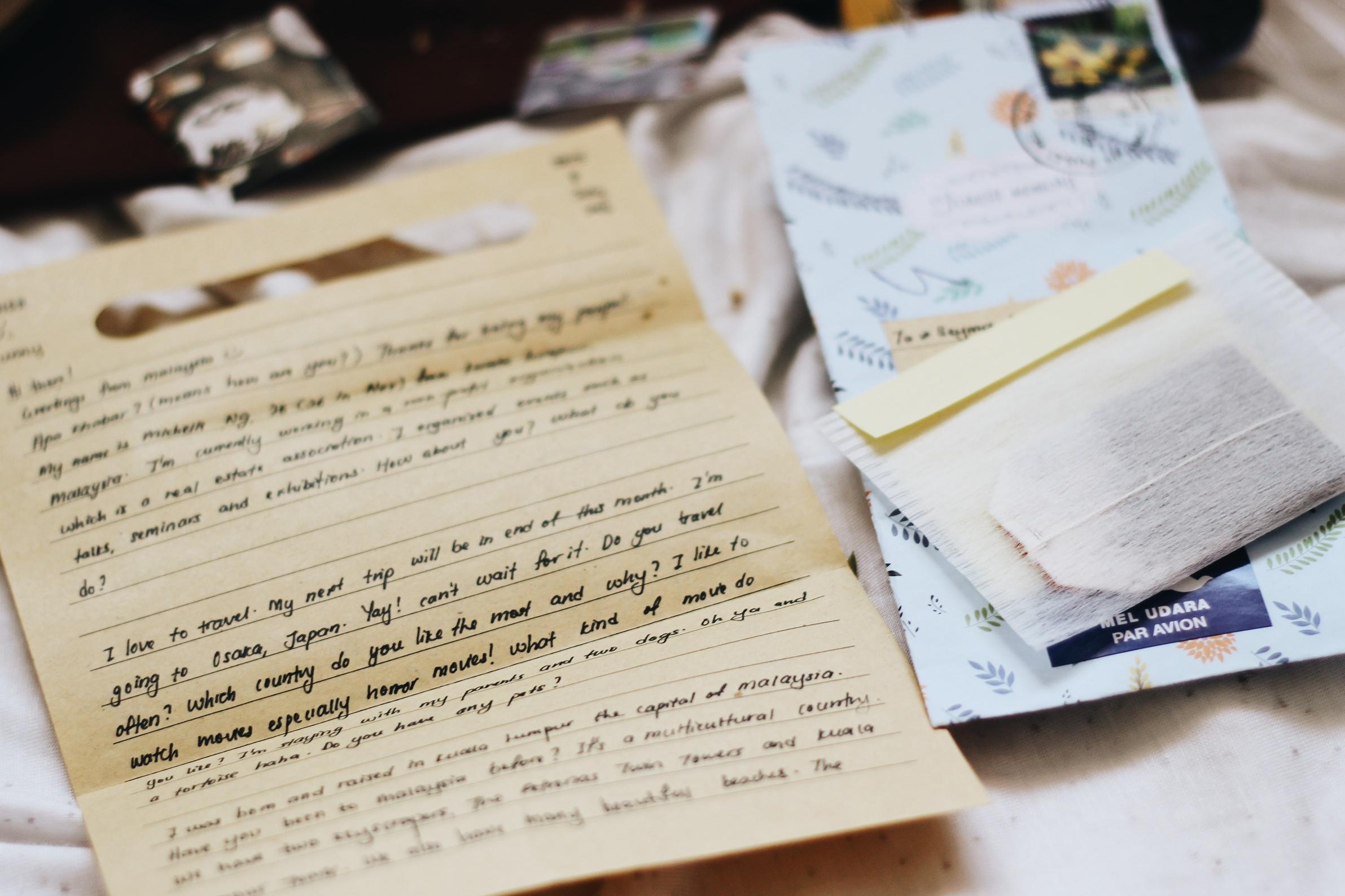 Mektup Arkadaşlığı Postcrossing Mektup
