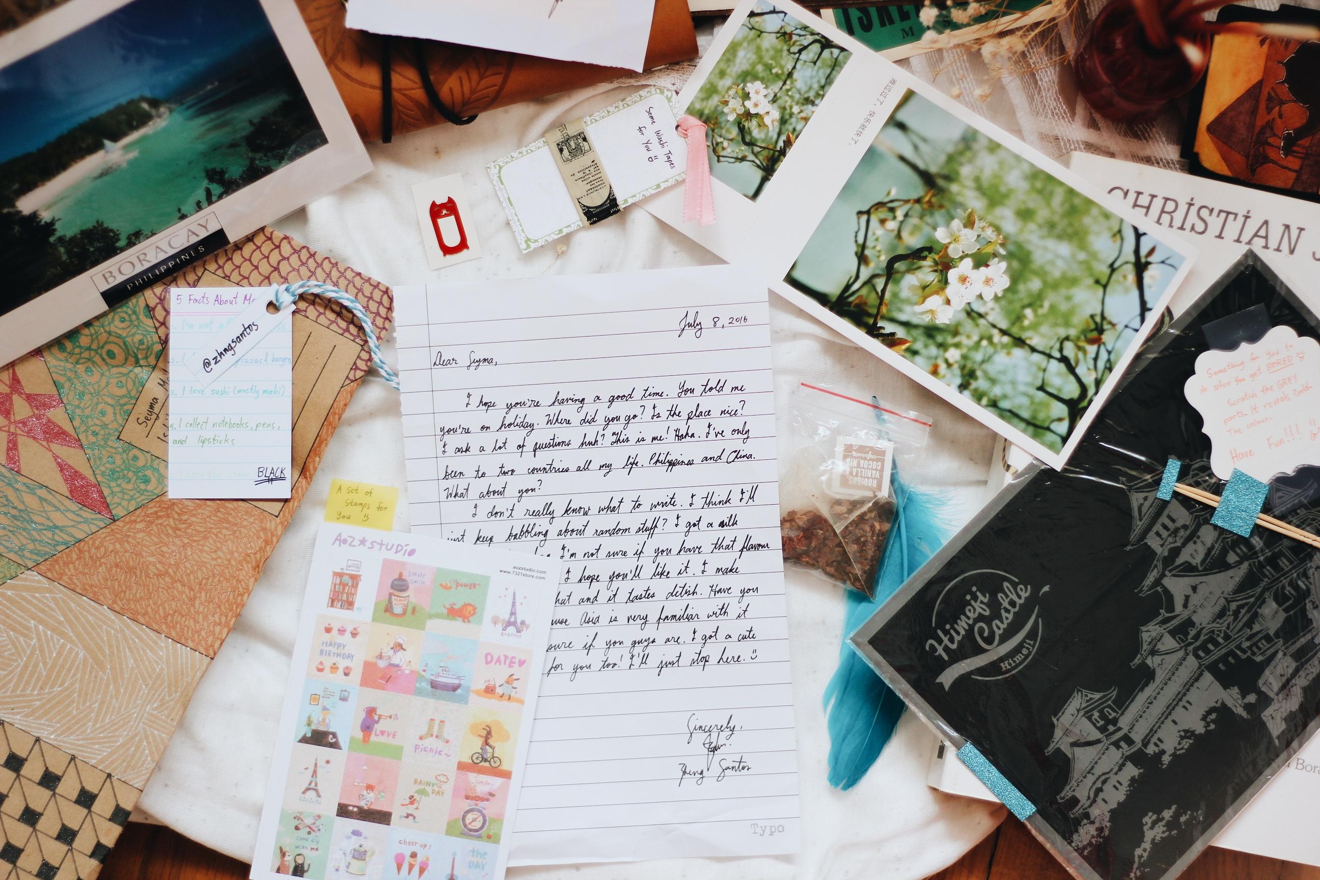 Mektup Arkadaşlığı Postcrossing Kartpostallar
